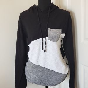 X-S-IVE. Cotton Hooded Pullover